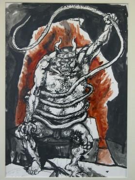 illustrazione della Divina Commedia- Renato Guttuso (1967)